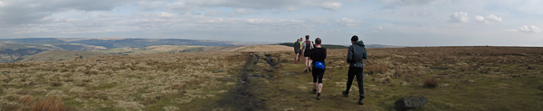 On the moors near Stoodley Pike