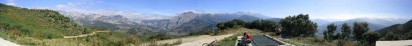 Picos de Europa: panorama from Rases.