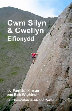 The cover of the Cwm Silyn Guidebook
